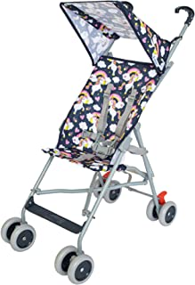 Moon Jet-Ultra light weight/Compact fold Buggy Stroller/pram,-Suitable for kids ( from 6 months to 3 years) - Unicorn