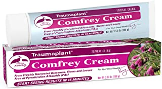 Terry Naturally Traumaplant Comfrey Cream - 3.53 oz (100 g) - Non-Staining Topical Botanical, Free of Toxic Pyrrolizidine ...