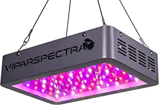 VIPARSPECTRA Newest Dimmable 600W LED Grow Light, Dual Chips Full Spectrum LED Grow Lamp for Hydroponic Indoor Plants Veg ...