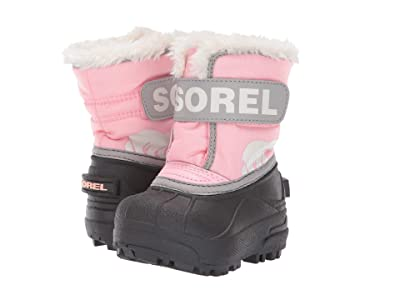 SOREL Kids Snow Commander (Toddler) (Cupid/Dove 1) Girls Shoes