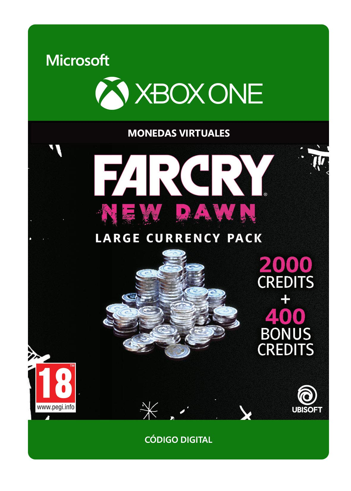 Far Cry New Dawn: Credit Pack Large | Xbox One - Código de descarga: Amazon.es: Videojuegos