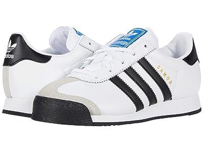 adidas Originals Kids Samoa (Little Kid) (Footwear White/Core Black/Footwear White) Kids Shoes
