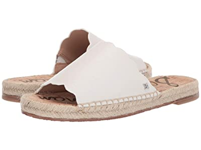 Sam Edelman Andy (Bright White Botalatto Tumbled Leather) Women