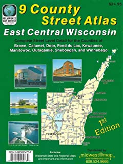 9 County Street Atlas East Central Wisconsin