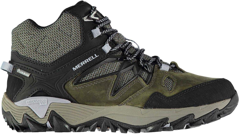 Merrell All Out Feuer 2 Mid GTX Stiefel Damen Grün Wanderm Schuhe