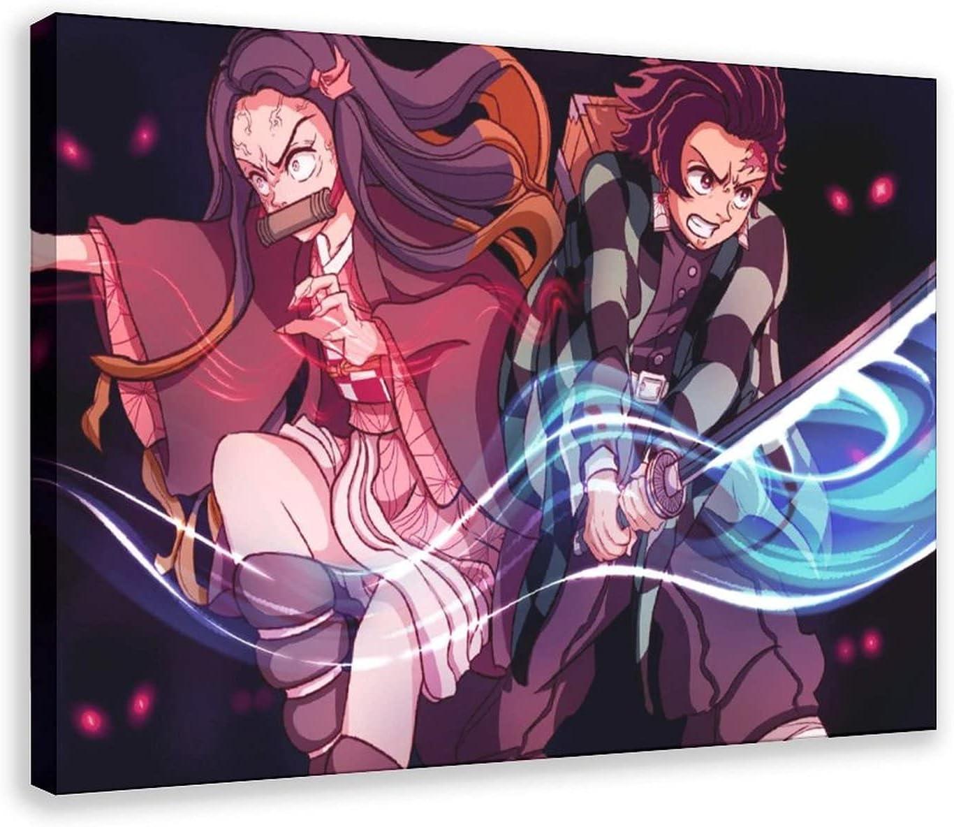 Demon Slayer Posters Anime Finally resale Tulsa Mall start 6 Art Poster Canvas