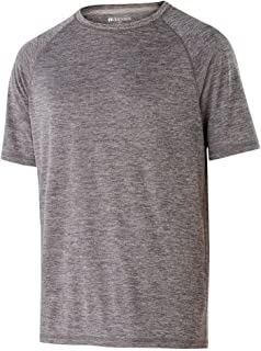 Holloway Youth Electrify 2.0 Shirt (Large, Graphite Heather)