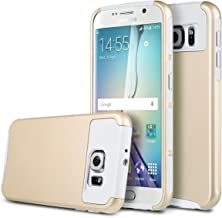 Galaxy S7 Case, X-Master® [2in1] Slim Hybrid Dual Layer Protective Case for Samsung Galaxy S7(5.1 inch) with Rugged TPU Inner Case + Glossy PC Hard Cover(Gold+White)