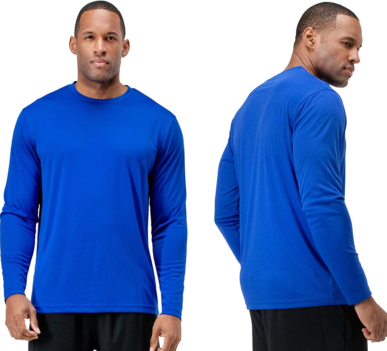 DEVOPS Men's 2 Overseas parallel import regular item Pack UPF 50+ Sun F Omaha Mall Protection Sleeve Dri Long Fit