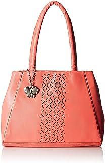 Butterflies Women's Handbag (Dark Peach) (BNS 0586DPCH)