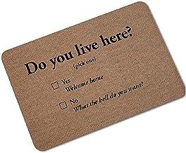 Indoor Doormat,(60x40cm) Absorbent,Rubber Backing Non Slip Door Mat, Machine Washable Inside Mats,Low-Profile Rug Doormats...