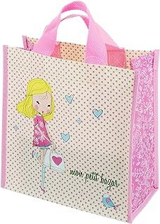 : sac cabas plastique Rose
