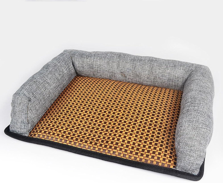 Dog's Bed Premium Orthopedic Memory Foam Waterproof Dog Beds Many Colours Sizes Eases Pet Arthritis Hip Dysplasia Pain,Grey38296cm