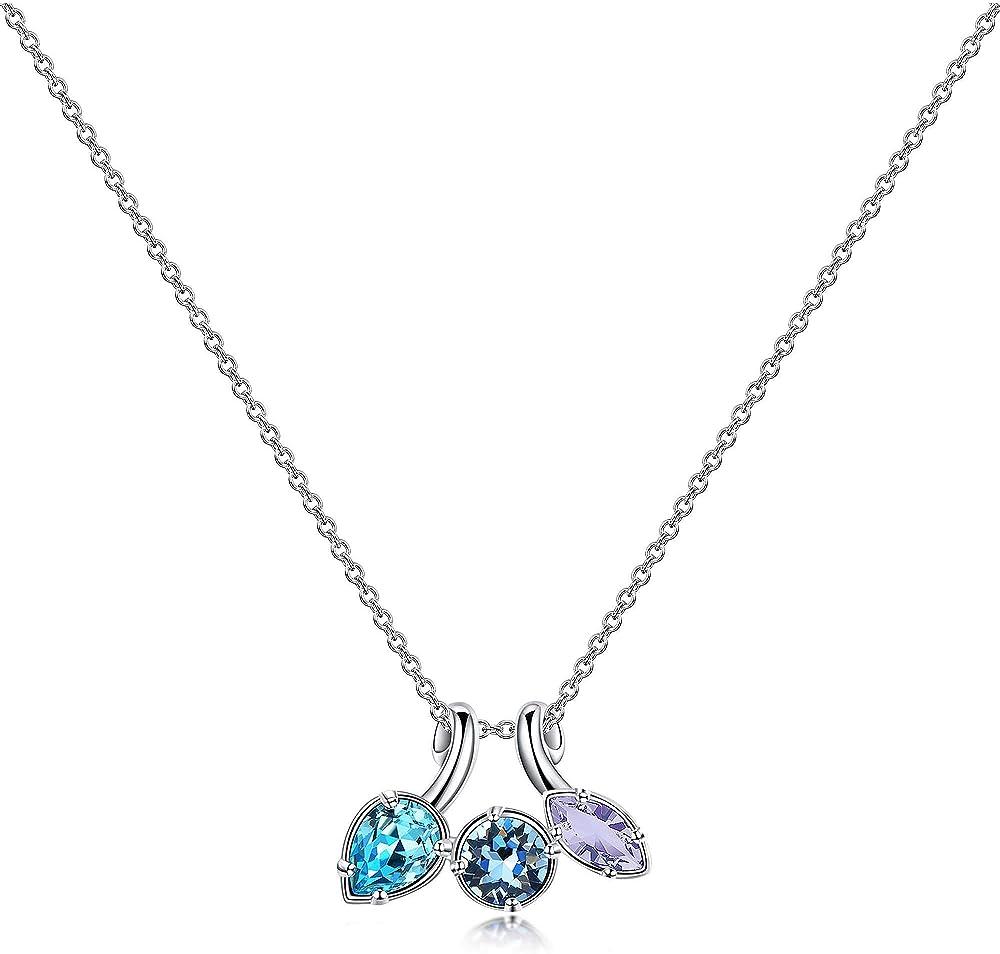 Brosway collana da donna gioielli affinity trendy.collana in ottone e cristalli swarovski. BFF68