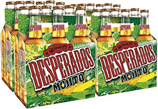 Desperados Mojito Cerveza - Pack de 24 Botellas x 330 ml -