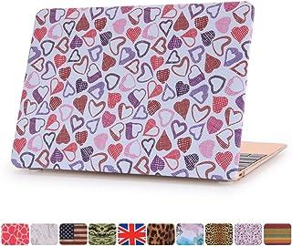 [Aiyopeen] 2015 12インチ ハードケース Macbook 用 シェルカバー (Heart柄).一枚液晶保護フィルム 付き