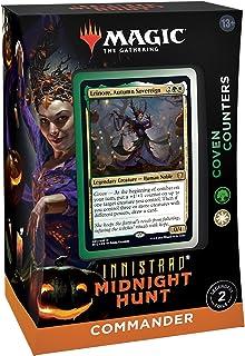 MTG マジック・ザ・ギャザリング イニストラード:真夜中の狩り統率者デッキ 英語版B COVEN COUNTERS