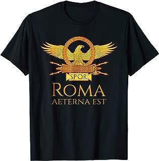 The Eternal City Rome SPQR Roman Legion Aquila Eagle Shirt