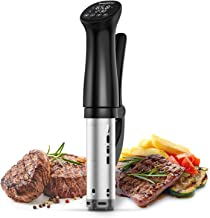 Sous Vide Cooker, 1200W Ultra-Quiet Precision Cooker with Accurate Temperature Control and Timer Digital Display, IPX7 Waterproof