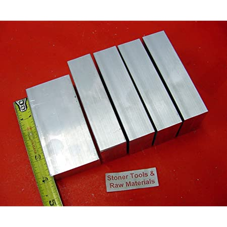 0.125 Thick Extruded 1//8 x 2-1//2 T6511 Mill Stock Aluminum Flat Bar 6061 General-Purpose Plate 6 Length