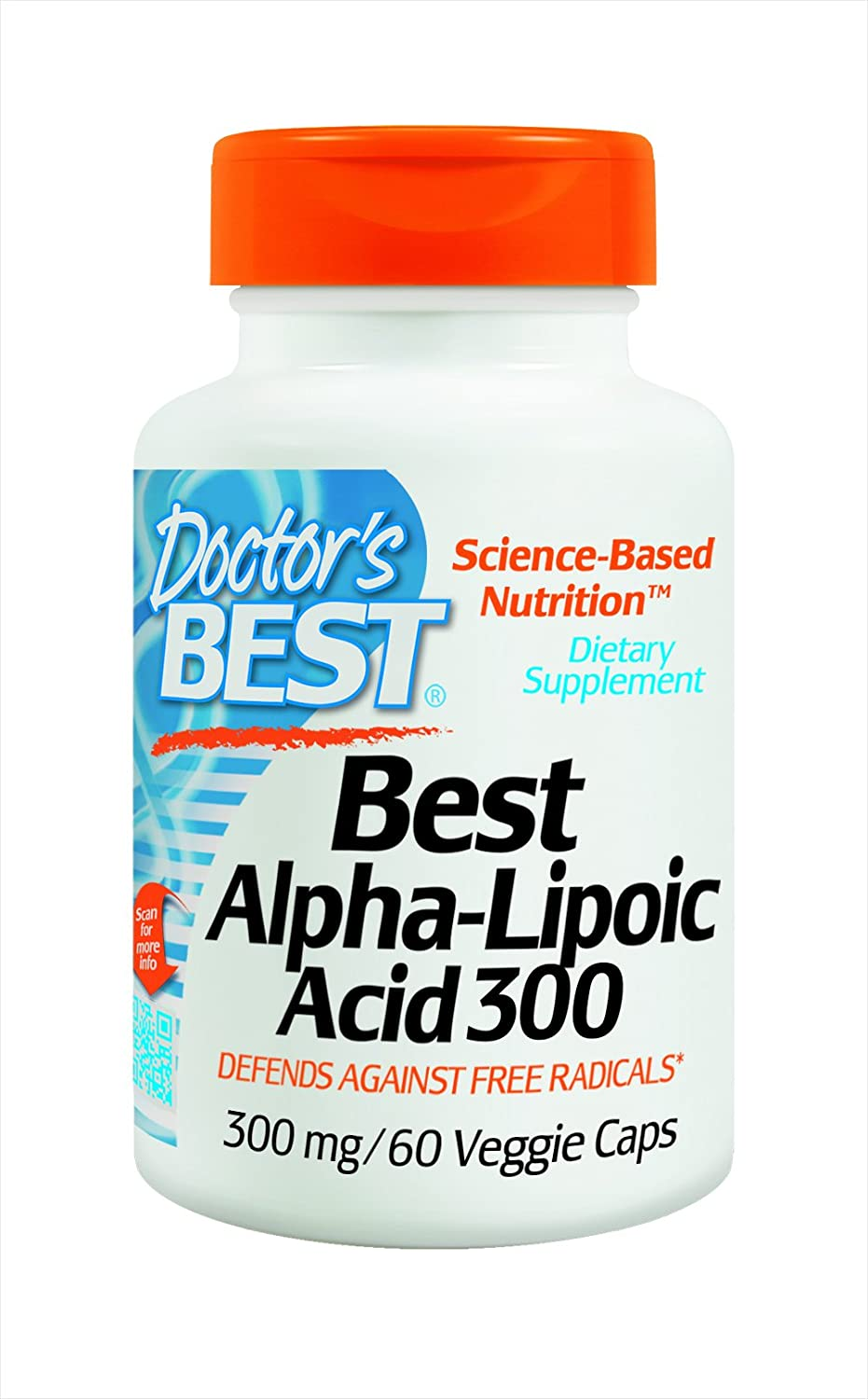 Doctor's Best Alpha-Lipoic Challenge the lowest price of Japan Acid Supplement mg Max 41% OFF 60 300 Count