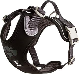 Hurtta Weekend Warrior Dog Harness, Raven, 39-47 in