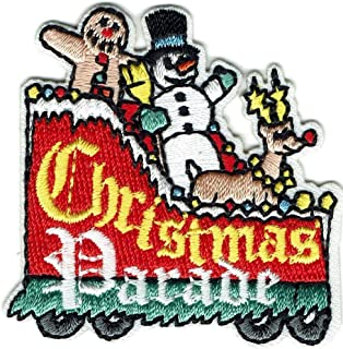 boy Girl cub Christmas Parade Float Fun Patches Crests Badges Scout Guides