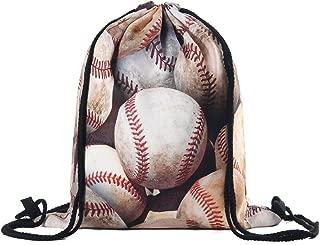 drawstring baseball bags