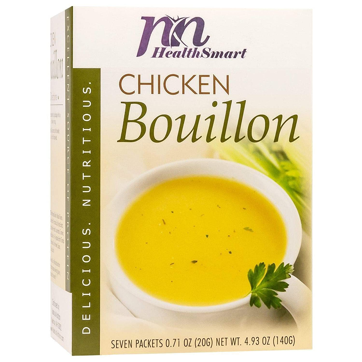 HealthSmart High Protein Chicken Max 64% OFF Low Soup Bouillon 15g Ranking TOP13
