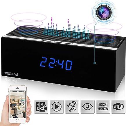 Clock Spy Camera - Wireless Home Hidden Cam - Security...