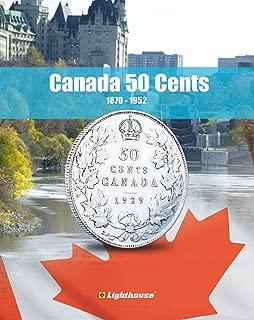 Lighthouse VISTA Coin Album for Canada 50 Cent, Vol. 1 1870 – 1952