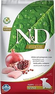 Farmina Natural & Delicious Prime Chicken & Pomegranate Puppy Mini Dog Food5.5 lb