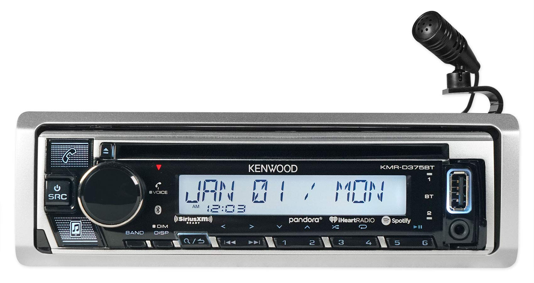 Kenwood KMR D375BT Receiver Bluetooth Interface