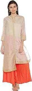 Rangmanch by Pantaloons Women's Polyester Straight Kurta