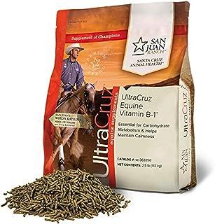 UltraCruz sc-363250 Equine Vitamin B-1 Supplement for Horses, 2.5 lb, Pellet (40 Day Supply)
