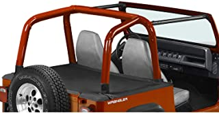 Pavement Ends by Bestop 41825-15 Black Denim Cargo Cover for 97-02 Wrangler TJ