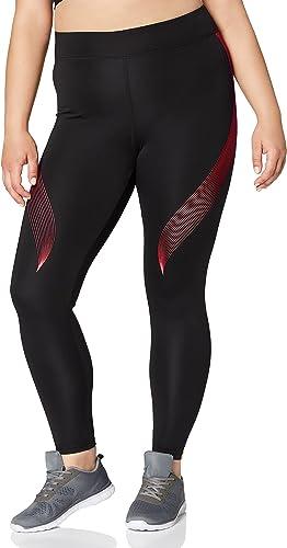 Marque Amazon - AURIQUE Legging de Sport Imprimé Femme
