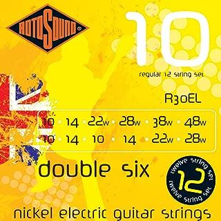 Rotosound R30EL Nickel 12 String Electric Guitar Strings  (10 14 10 14 22 28 10 14 22 28 38 48)