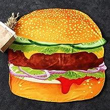 Best giant burger beach blanket Reviews