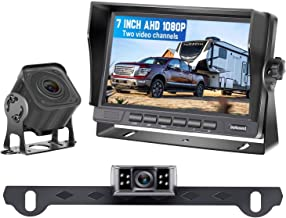 $149 » DoHonest V27 AHD 1080P 7'' TFT Monitor RV Dual Backup Camera for Trucks,Trailers,5th Wheels,Motorhomes, High-Speed Observa...
