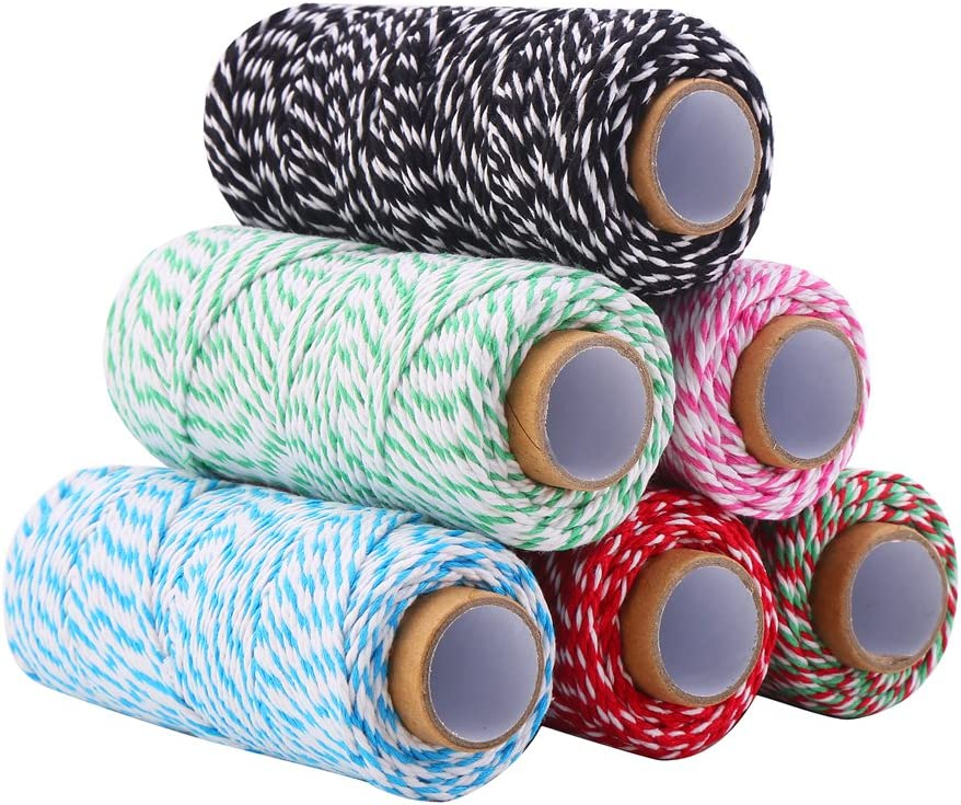 DECORA 328 Yard Bakers Twine Cord String Rope Cotton Gift Wr Quality inspection for Limited time free shipping