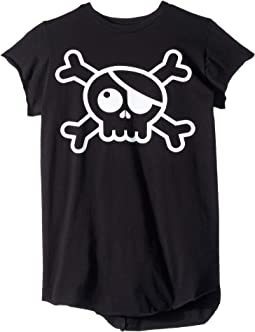 Raw Skull T-Shirt (Little Kids/Big Kids)