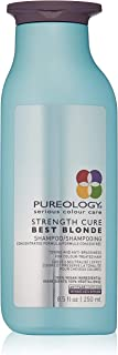 Pureology | Strength Cure Best Blonde Purple Shampoo | Restore & Tone | Sulfate-Free | Vegan