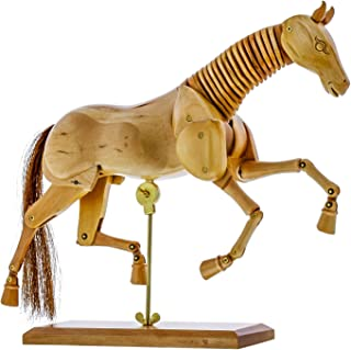 Us Art Supply Wooden Horse Artist Drawing Manikin Articulated Mannequin (8 Horse) by