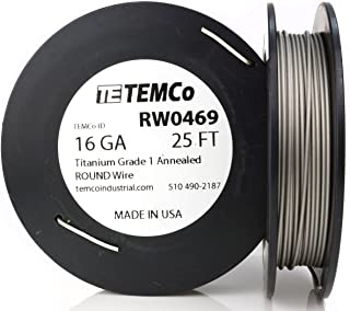 Best titanium wire 16 gauge Reviews