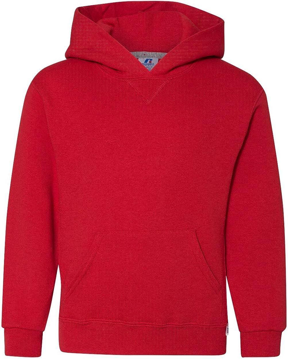 Russell Athletic Boys' Dri-Power Fleece Hoodies and Sweatshirts: Clothing