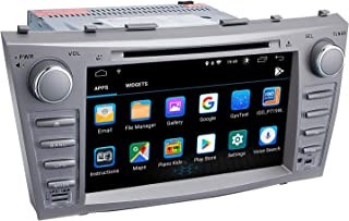 Camry Car Stereo DVD Player-Double Din in-Dash, Multimedia Receiver with Touchscreen, Built-in Bluetooth, MP3 Player, GPS Navigation, SD, AUX Input, Radio Receiver (Android 9.0)