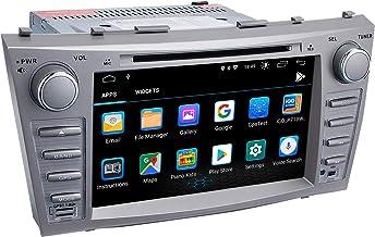 Camry Car Stereo DVD Player-Double-in-Dash ، گیرنده چندرسانه ای با صفحه لمسی ، داخلی بلوتوث ، پخش کننده MP3 ، ناوبری GPS ، SD ، ورودی AUX ، گیرنده رادیو (اندروید 9.0)