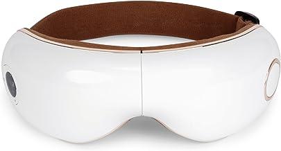 ماساژور چشم SKANDAS (مدل جدید 2019) - ماسک صورت / عینک ماساژ قابل شارژ با لرزش، هوای فشرده، گرما و موسیقی - 2 سال گارانتی رسمی GLOBAL RELAX® US