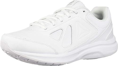 Reebok Men's Walk Ultra 6 DMX MAX zapatos, blanco Steel, 12.5 4E US
